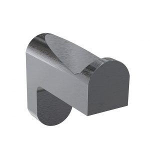 Bassini Robe Hook Gunmetal