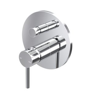 Enhance Nobel Wall Diverter Mixer Chrome