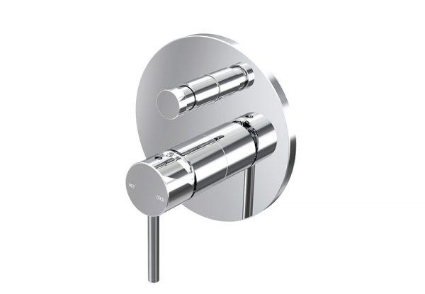 Enhance Nobel Wall Diverter Mixer Chrome